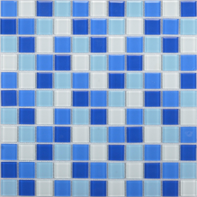欧式蓝色墙面砖贴图